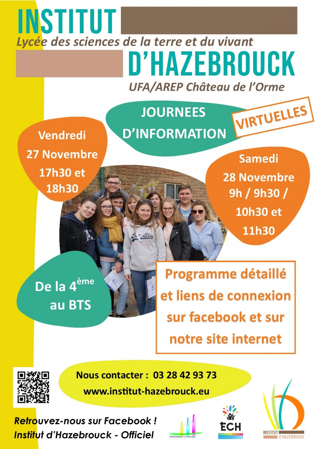 JOURNEE DINFORMATION 27 28 NOVEMBRE 2020 AV virtuelles